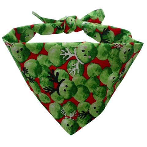 CHRISTMAS SPROUT DOG BANDANA