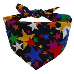 PARTY STARS  DOG BANDANA