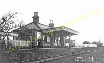 Abbey Railway Station Photo. Stoke Ferry - Ryston. Denver Line. (3)