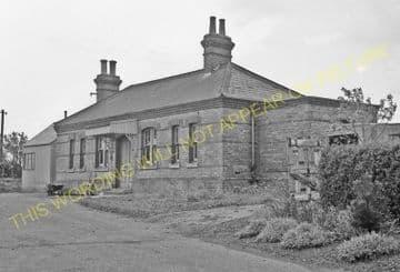 Abbey Railway Station Photo. Stoke Ferry - Ryston. Denver Line. (7)