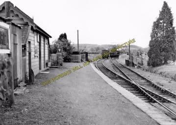 Abbeydore Railway Station Photo. Pontrilas - Bacton. Vowchurch and Hay Line (4)
