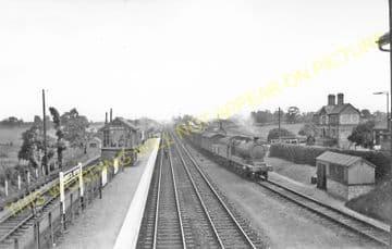 Abbots Ripton Railway Station Photo. Huntingdon - Holme. Peterborough Line. (5)