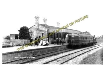 Abbotsbury Railway Station Photo. Portesham and Upwey Line. Great Western. (12)