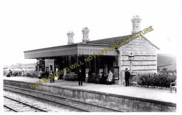 Abbotsbury Railway Station Photo. Portesham and Upwey Line. Great Western. (13)