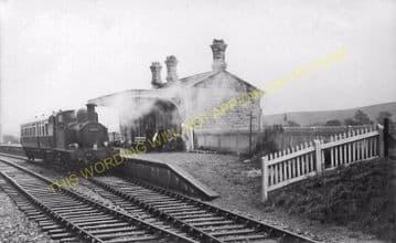 Abbotsbury Railway Station Photo. Portesham and Upwey Line. Great Western. (17)