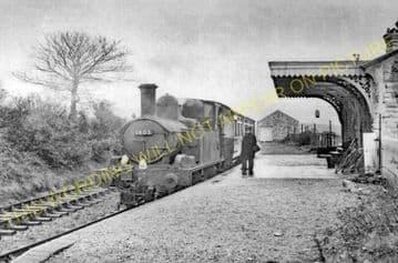 Abbotsbury Railway Station Photo. Portesham and Upwey Line. Great Western. (18)