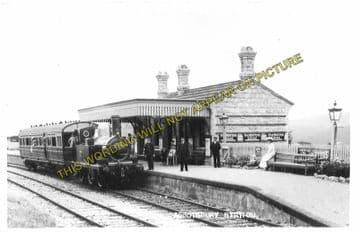 Abbotsbury Railway Station Photo. Portesham and Upwey Line. Great Western. (3)
