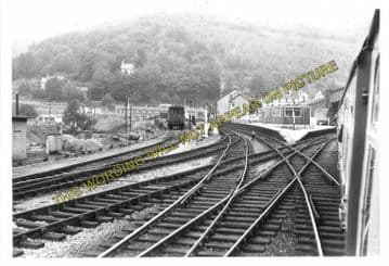 Aberbeeg Railway Station Photo. Crumlin to Ebbw Vale and Abertillery Lines. (6)