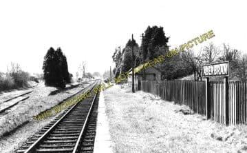 Aberbran Railway Station Photo. Cradoc - Devynock Sennybridge. Brecon Line. (2)