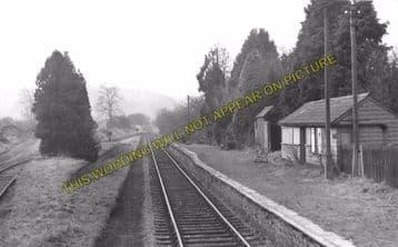Aberbran Railway Station Photo. Cradoc - Devynock Sennybridge. Brecon Line. (5)