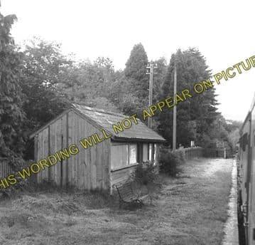 Aberbran Railway Station Photo. Cradoc - Devynock Sennybridge. Brecon Line. (6)