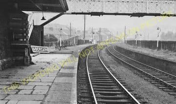 Abercarn Railway Station Photo. Cross Keys - Newbridge. Crumlin Line. (3)