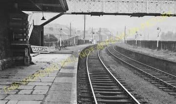 Abercarn Railway Station Photo. Cross Keys - Newbridge. Crumlin Line. (3)