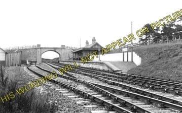 Aberchalder Railway Station Photo. Fort Augustus - Invergarry. (1)