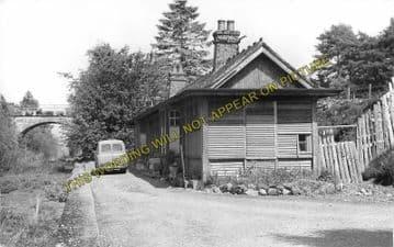 Aberchalder Railway Station Photo. Fort Augustus - Invergarry. (2)