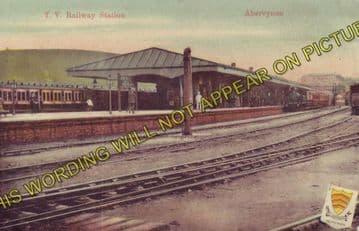 Abercynon Railway Station Photo. Pontypridd to Quakers Yard and Mountain Ash (3)