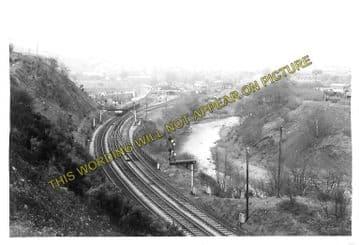 Abercynon Railway Station Photo. Pontypridd to Quakers Yard and Mountain Ash (4)