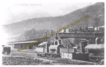 Abercynon Railway Station Photo. Pontypridd to Quakers Yard and Mountain Ash (5)