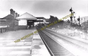 Aberdare High Level Railway Station Photo. Mountain Ash - Trecynon. GWR. (3)