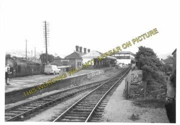 Aberdare High Level Railway Station Photo. Mountain Ash - Trecynon. GWR. (4)