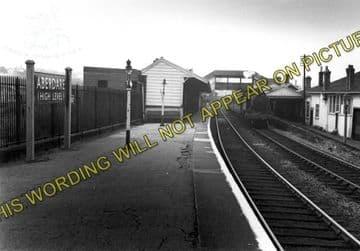 Aberdare High Level Railway Station Photo. Mountain Ash - Trecynon. GWR. (5)