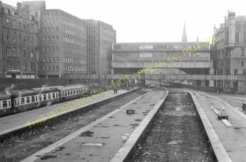 Aberdeen Railway Station Photo. Caledonian and Great North of Scotland Joint (14)