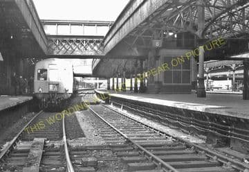Aberdeen Railway Station Photo. Caledonian and Great North of Scotland Joint (17)