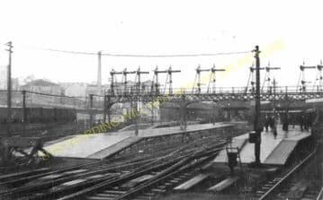 Aberdeen Railway Station Photo. Caledonian and Great North of Scotland Joint (18)
