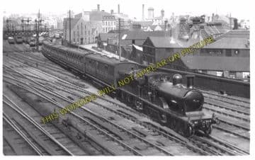 Aberdeen Railway Station Photo. Caledonian and Great North of Scotland Joint (9)