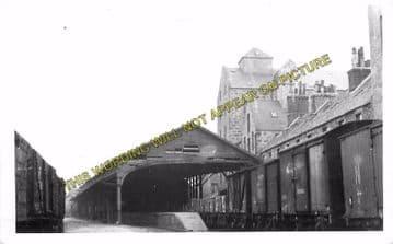 Aberdeen Waterloo Railway Station Photo. Great North of Scotland Railway (3)