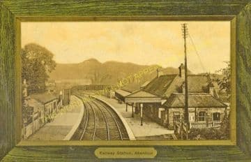 Aberdour Railway Station Photo. Inverkeithling - Burntisland. (5)