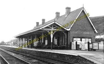 Aberdovey Railway Station Photo. Machynlleth - Towyn. Cambrian Railway. (1)..