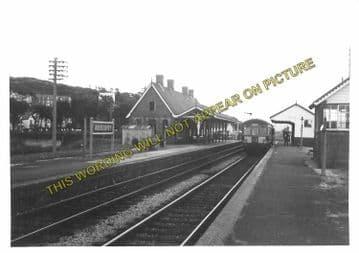 Aberdovey Railway Station Photo. Machynlleth - Towyn. Cambrian Railway. (13)
