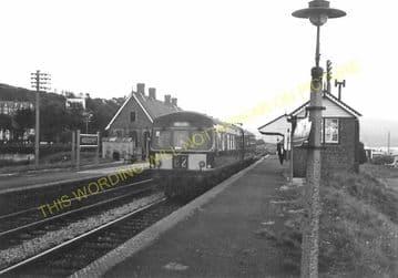 Aberdovey Railway Station Photo. Machynlleth - Towyn. Cambrian Railway. (14)
