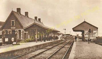 Aberdovey Railway Station Photo. Machynlleth - Towyn. Cambrian Railway. (15)