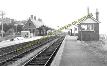 Aberdovey Railway Station Photo. Machynlleth - Towyn. Cambrian Railway. (3)