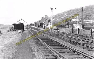 Aberdovey Railway Station Photo. Machynlleth - Towyn. Cambrian Railway. (5)