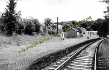 Aberedw Railway Station Photo. Erwood - Builth Wells. Three Cocks - Rhayader (4)
