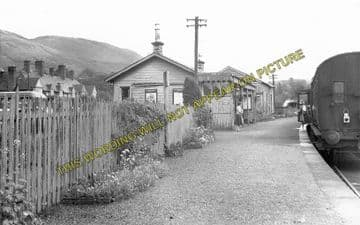 Aberfoyle Railway Station Photo. Gartmore and Buchlyvie Line. North British Railway. (1)