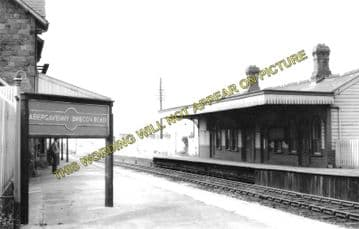 Abergavenny Brecon Road Railway Station Photo. Gilwern and Brynmawr Line. (2)