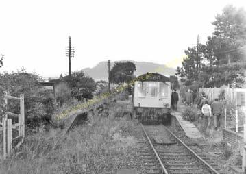 Abergavenny Brecon Road Railway Station Photo. Gilwern and Brynmawr Line. (4)
