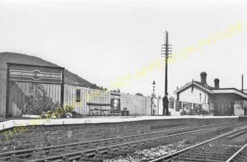 Abergavenny Brecon Road Railway Station Photo. Gilwern and Brynmawr Line. (5)