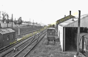 Abergavenny Junction Railway Station Photo. Pontypool - Pontrilas Line. GWR (3).