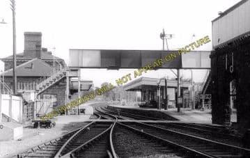 Abergavenny Monmouth Road Railway Station Photo. Great Western Railway. (2)