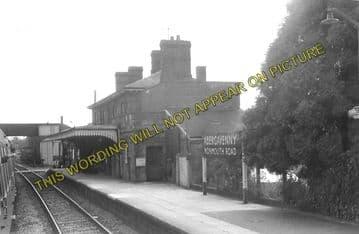 Abergavenny Monmouth Road Railway Station Photo. Great Western Railway. (5).