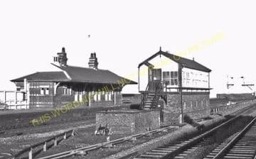 Abergele Railway Station Photo. Rhyl - Llandulas. Llandudno Junction Line. (2)