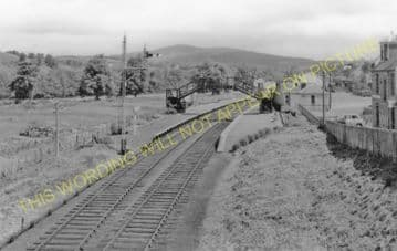 Aberlour Railway Station Photo. Craigellachie - Carron. Boat of Garten Line (6)