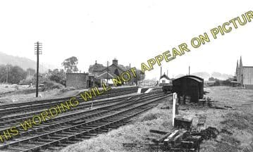 Abermule Railway Station Photo. Newtown to Montgomery and  Kerry. Cambrian. (1)..