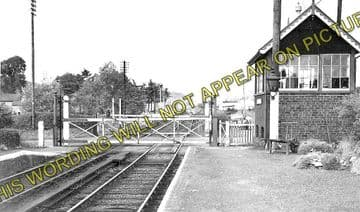 Abermule Railway Station Photo. Newtown to Montgomery and  Kerry. Cambrian. (4)