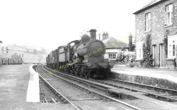 Abermule Railway Station Photo. Newtown to Montgomery and  Kerry. Cambrian. (5)